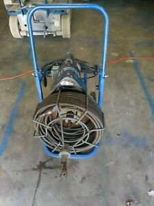 Used Easy Rooter General Wire 100ft X 5 8 Electric Drain Snake