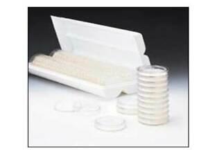 Pall Sterile Petri Dishes 50x9mm Pk 100 Fits 47mm Membrane Filter 7242