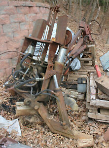 Wain roy Cable Swing Backhoe Attachment Circa 1955