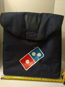 Authentic Domino s Pizza Large Insulated 17 X 17 X 7 Delivery Bag