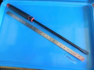 New Mac Tools 25 In Straight Capped Red Pry Bar Part Pb25sr