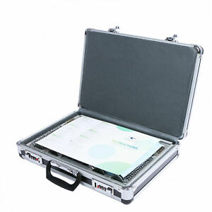 104 Pcs Optical Trial Lens Set Metal Rim Aluminum Case 1 Free Trial Frame