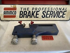 Ammco Brake Lathe 6900 Twin Cutting Head For Rotors With 10 Piece Bits Included
