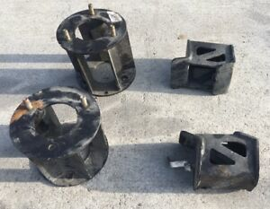 16 17 18 Nissan Titan Xd 4wd 6 Rough Country Front Lift Kit Spacer Spacers 6 In