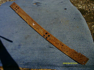 36 Chevy Low Cab Pu Truck L Jam Cover Hot Rat Rod Gmc