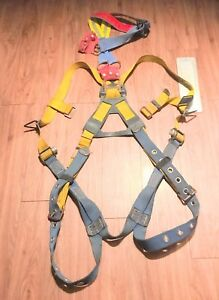 Safety Horness web Devices Safety Harness And Fall Tech Double Leg Lanyard