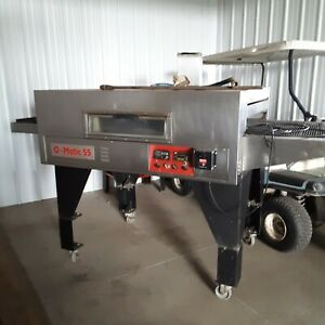Q matic 55 Commercial Conveyor Pizza Oven