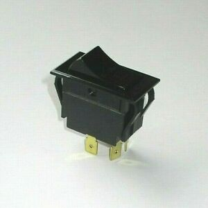 Southbend Range 1177541 Power Switch Rocker Black 4 prong On off Convection Oven