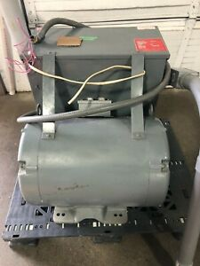 Arco Roto phase Rotary Phase Converter 40 H p Model Csp40 Works Great