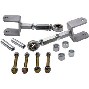 For Ford Mustang 1979 2004 Rear Upper Double Adjustable Control Arms W bushings