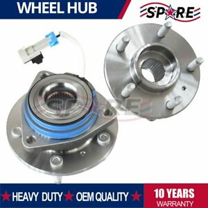 2x Front Wheel Hub Bearings Stud Abs For Chevy Pontiac Buick Saturn 513179
