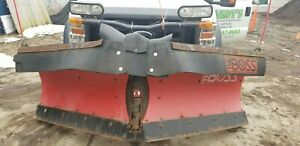 Boss V Blade Snow Plow 9 2 With Controller Wires Mounts Etc 2010