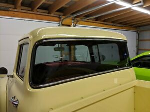 1956 Ford Pickup Truck Stainless Steel Big Back Window Trim