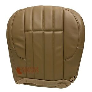 2000 Jeep Grand Cherokee Limited Driver Bottom Synthetic Leather Seat Cover Tan