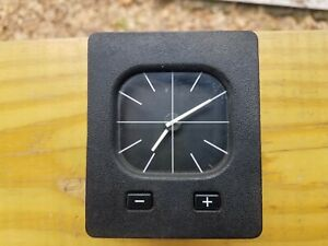 Bmw E30 325 318 Euro Analog Clock vgc