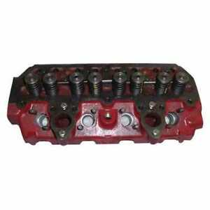 Cylinder Head With Valves International B414 424 444 B275 384 2424 354 434 364