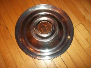 Old Vintage Gm Cadillac Chrome 15 Hubcap Very Nice For Age
