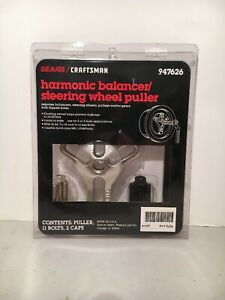 Craftsman Harmonic Balancer Steering Wheel Puller Made In Usa 47626 New