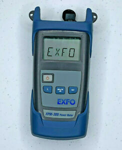 Exfo Fpm 300 Sm Mm Fiber Optic Power Meter Exfo Opm W Sc Adapter