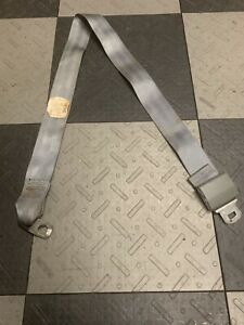 1978 1987 Grand National T type Rear Seat Belt Strap Latch Buckle Trim Gray Gm