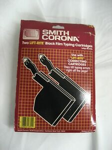 New 2pak Smith Corona Typewriter Compatible c Series Ribbon Side Load see List