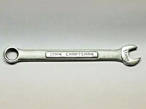 10mm Metric Craftsman Combination Wrench Made In Usa Vv 42914 Lot 3