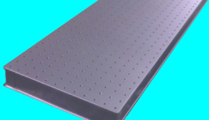 New Vere Optical Table Breadboard 12 X 60 X 2 3 Factory Direct Item