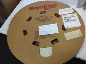 Raychem 1 8 Heat Shrink Tubing 1000 White Roll Mil lt 1 8 9 sp cs 1797 sr up