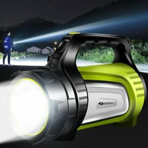 20w Super Bright Outdoor Handheld Portable Usb Rechargeable Flashlight Torch