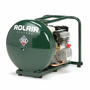 Rolair 4 5 Gallon Gas Powered Cordless Small Portable Air Compressor for Parts