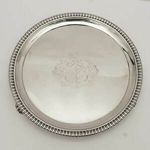 9542 George Iii Silver Salver