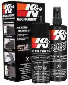 K N Air Filter Oil Care Cleaning Service Kit Recharger Aerosol Car Spray New