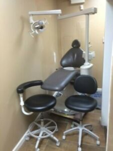 Adec Dental Operatory Equipment Chair Stools Cabinets Doctor Assistant Delivery