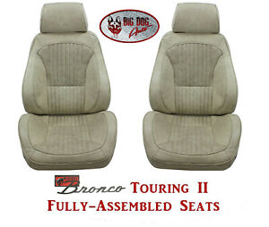 Standard Touring Ii Fully Assembled Seats For 1968 74 Ford Bronco S Any Color