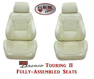 Standard Touring Ii Fully Assembled Seats For 1975 77 Ford Bronco S Any Color