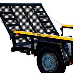 Gorilla Lift 2 Sided Tailgate Utility Trailer Gate Lift Assist System Used