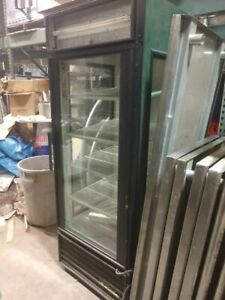 True Single Door Three Side Glass Cooler