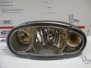 Boss Snow Plow Head Light Msc11120 New Oem Drivers Side Headlamp W Turn 2008