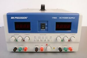 Bk Precision 1760a 4 Digit Display Triple Output Dc Power Supply 0 30v 0 2a