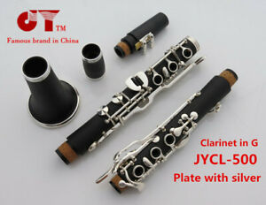 German clarinet silver plated German black tube jycl-a500s