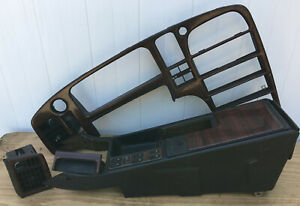 1991 Saab 9000 Cd Wood Dash Panel Kit Comes With Master Power Window Switch