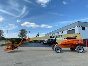 2011 Jlg M600jp 60ft Electric Boom Lift Man Lift Aerial Lift Boom Manlift Man