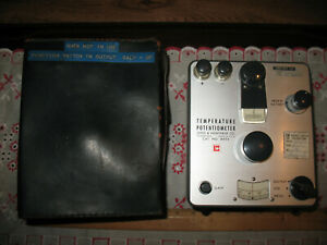 Vintage Leeds Northrup Co Potentiometer No 8694 Philadelphia Usa 1963