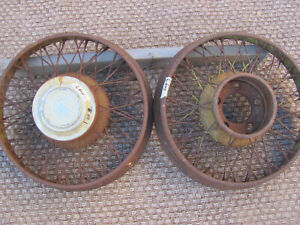 Vintage Wire Wheels 19 Willys Knight Rat Rod