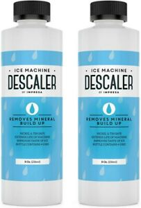 Ice Machine Cleaner Descaler 4 Uses Per Bottle Universally Compatible 2 Pack New