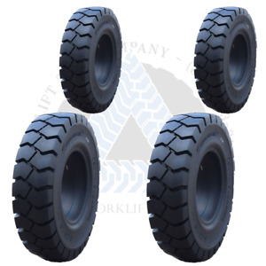 7 00x12 5 6 00x9 4 Solid Forklift Tires 700x12 600x9 Tr 4x Deal