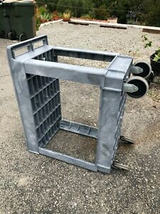Rubbermaid Utility Cart Gray 34 X 18 X 32 Excellent Condition