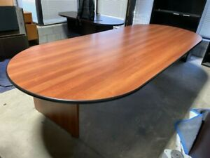 Oval Cherry Laminated Hon Conference Table