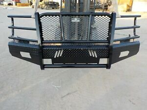Ranch Hand Summit Front Bumper Chevy 1500 08 09 10 11 12 13 Fsc08hbl1 Bb123m