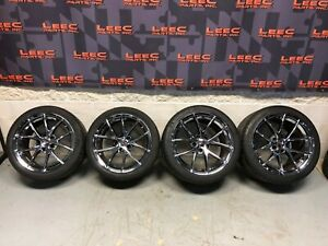 2013 Corvette C6 Z06 Oem Spyder Wheels Rims Tires 18x9 5 19x12 5x120